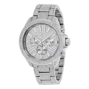Michael Kors MICHAEL KORS Chronograph Crystal Pave Dial Ladies Watch