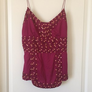 Tracy Reese Top in the purple family, close to deep fuschia