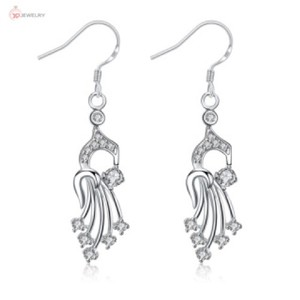 Other Silver Plated Cubic Zirconia Earrings