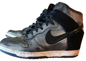 Nike black and silver Athletic
