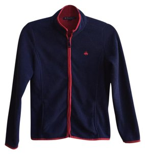 Brooks Brothers Fleece Zip Up Jacket Sweatshirt Jacket
