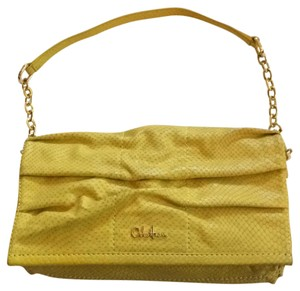 Cole Haan yellow Clutch