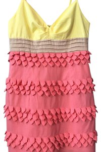 Akira short dress pink on Tradesy