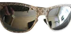 Gucci Gucci Gray Crystal square sunglasses