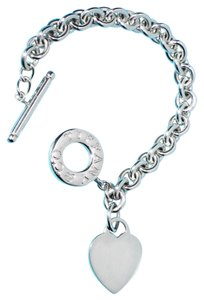 Tiffany & Co. Tiffany & Co. Heart Tag Toggle Charm Bracelet