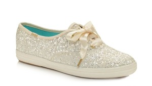Kate Spade Sneakers Glitter Keds Wedding White Athletic