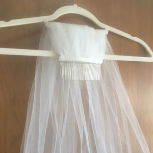 Waltz Length Single Layer Veil