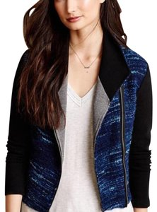 Anthropologie Blue, Black & Gray Blazer
