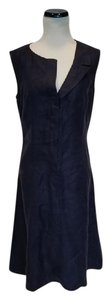 Chanel short dress Navy Cc Logo on Tradesy