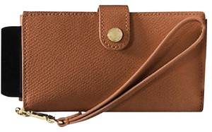 Coach Nwt New With Tags Phone Case Wristlet in Saddle