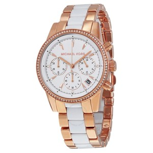 Michael Kors Michael Kors Women's Ritz Two-Tone Chrono Watch 6324