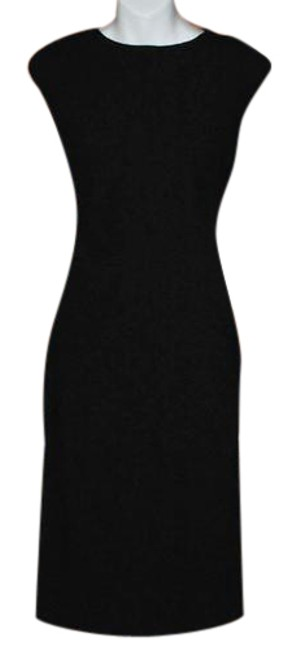 Item - Black Reduced Private Client Versatile Mid-length Work/Office Dress Size 6 (S)