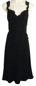 David Warren Chiffon Fit & Flare Midcalf Party Occasion Dress