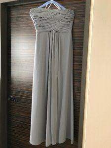 Monique Lhuillier Gray 450021 Dress