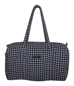 Vera Bradley Classic Easy Pack Outside Pocket Midnight houndstooth Travel Bag