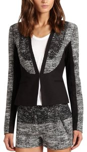 BCBGMAXAZRIA black and grey Blazer