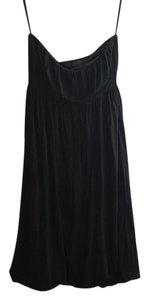 Banana Republic short dress black Strapless on Tradesy