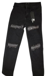 Forever 21 Distressed Skinny Jeans-Distressed
