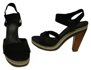jil sander black Platforms