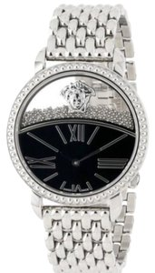 Versace VERSACE Black Transparent Dial Ladies Watch