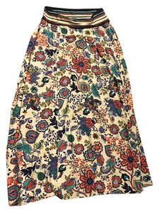 MILLY Maxi Skirt Multi
