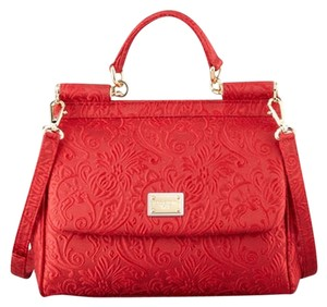 Dolce&Gabbana Brocade Miss Sicily Shoulder Bag