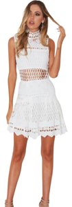 Whitefox short dress White Lace on Tradesy