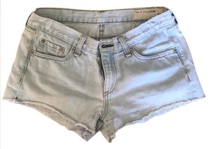 Rag & Bone Mini/Short Shorts light denim