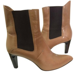 CoSTUME NATIONAL Beige Chelsea Tan Boots