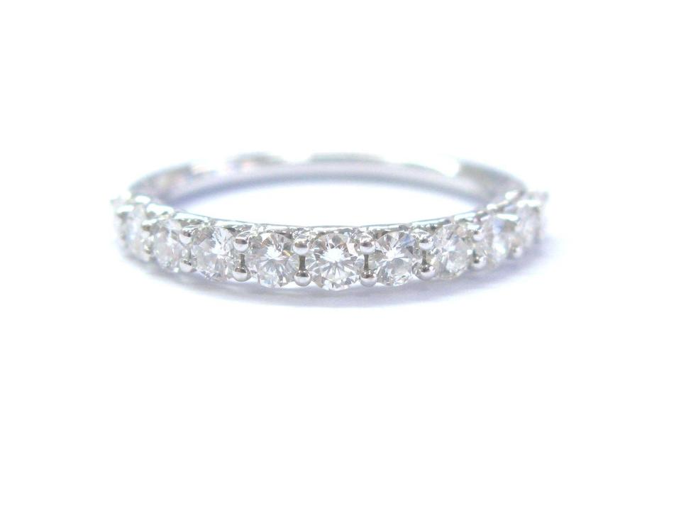 Other Fine Round Cut Diamond Shared G 11 Stone Band Ring 2 8mm 14kt