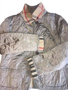 Burberry London Silver Jacket