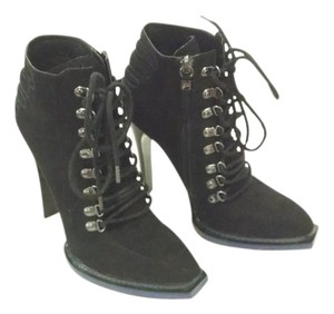 GX by Gwen Stefani High Heels Black with Blue accents Boots
