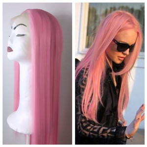 Other Synthetic Lace Wig Pink