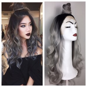 Other Ombre Grey Wig