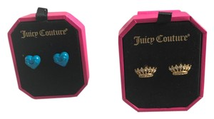 Juicy Couture Two pairs of Juicy Couture Earrings- NWT
