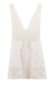 Valentino short dress White on Tradesy