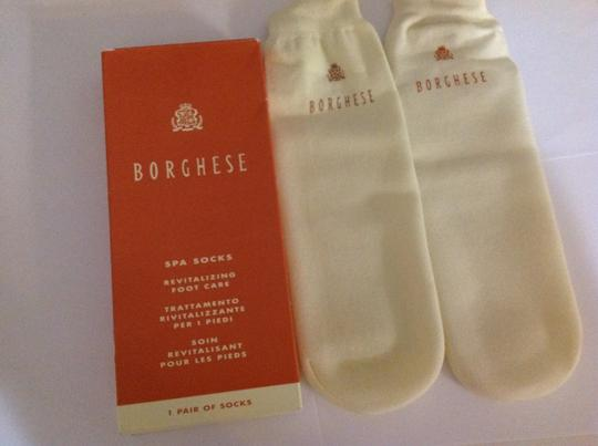 Borghese New Borghese spa socks revitalizing foot care treatment reusable beauty