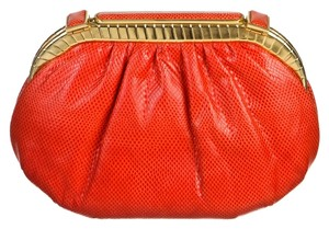 Judith Leiber Red Clutch