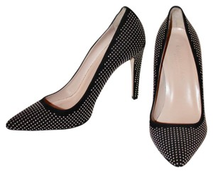 Club Monaco Studded Classic Edgy Sophisticated Black Pumps