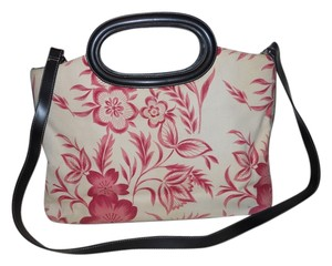 Preston & York Tote in red, cream & black