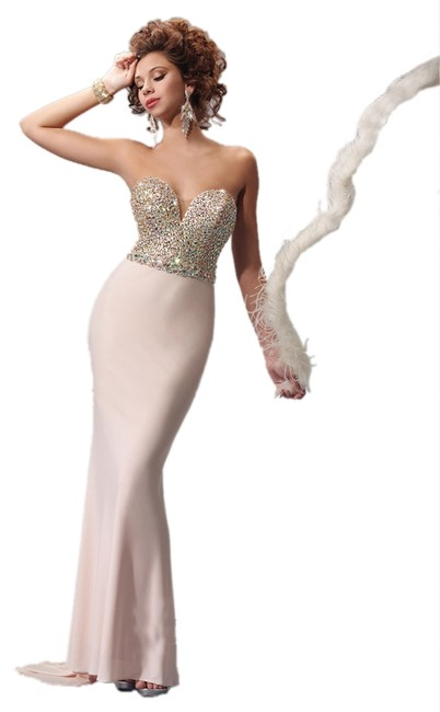 Kiss Kiss Formal Prom Homecoming Mother Of Bride Strapless Dress
