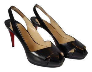 Christian Louboutin Pumps Red Soles Black Platforms