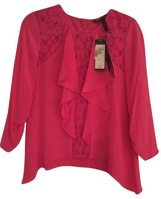 Preload https://item1.tradesy.com/images/bcbgmaxazria-pink-bcbg-blouse-size-4-s-2114110-0-0.jpg?width=400&height=650