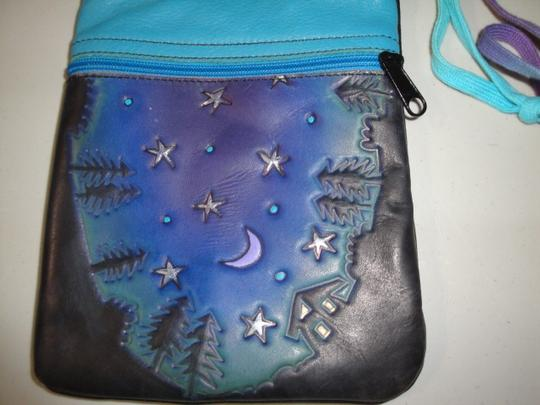 Those Shoes Our House Handmade Small Leather Cross Body Bag