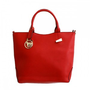 Nicola Mari Tote in Red