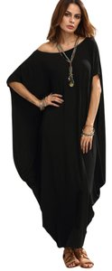 Boutique 9 Black Shift Maxi Dress