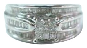 Other Fine Invisible Diamond Engagement Diamond Jewelry Ring