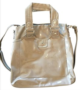 Marc by Marc Jacobs Turnlock Crossbody Patent Leather Shoulder Bag