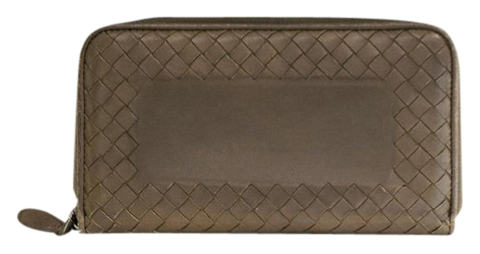 943b171769ef2 Bottega Veneta Bottega Veneta Nero (black) smooth leather Ebano zip-around  wallet is ...