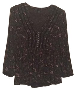 American Eagle Outfitters Top Dark green and black